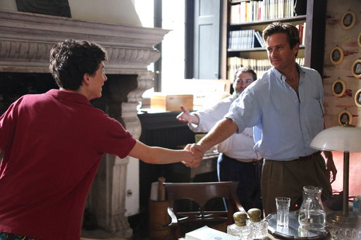 'Call Me By Your Name' leads Indie Spirit Award nominations