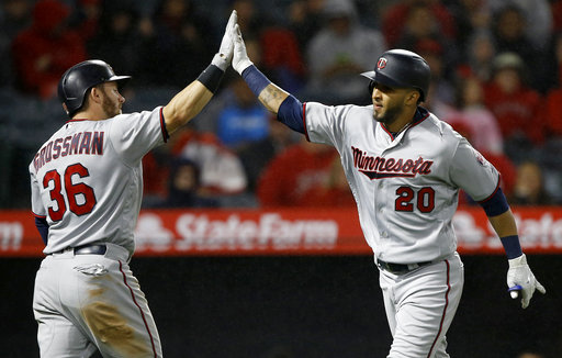 Angels, Twins to open four-game set