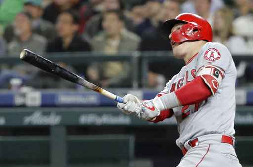 LEADING OFF: Cabrera done, Trout takes aim in Seattle again