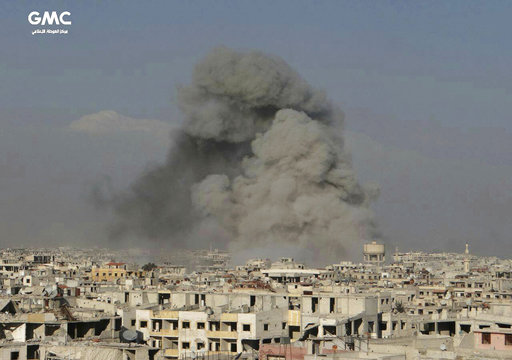 Airstrikes on suburbs of Syrian capital claim more lives