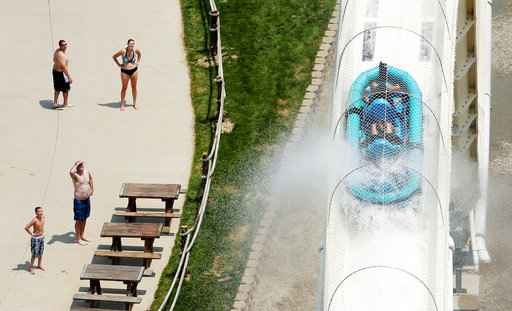 Kansas water park plans to tear down slide on which boy died