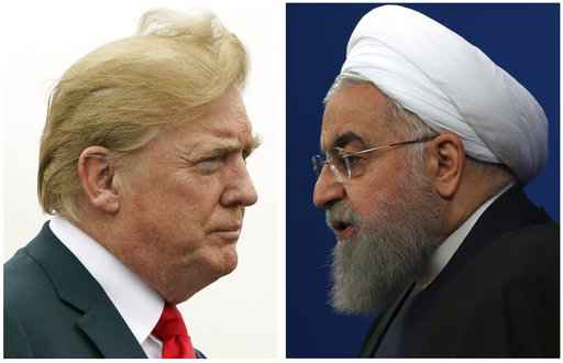 President Trump issues strong warning to Iranian president on Twitter