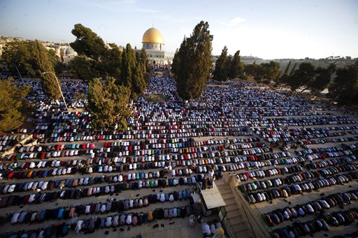 The Latest: Trump to declare Jerusalem as Israeli capital
