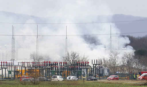 Austria: 1 dead, 21 hurt in explosion at natural gas plant