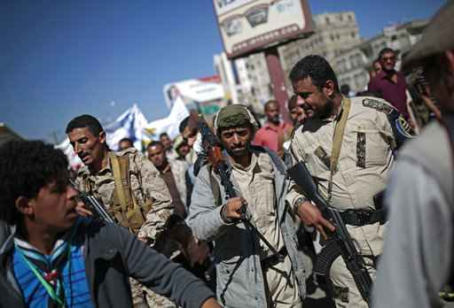 The Latest: Yemen rebels accept some of UN envoy's proposals