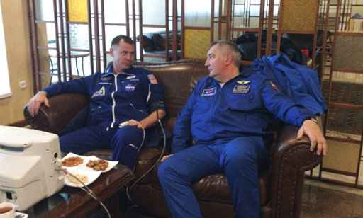Two astronauts make emergency landing after Russian rocket malfunctions during lift-off