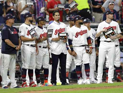Indians' Carrasco not slowing down as he fights leukemia