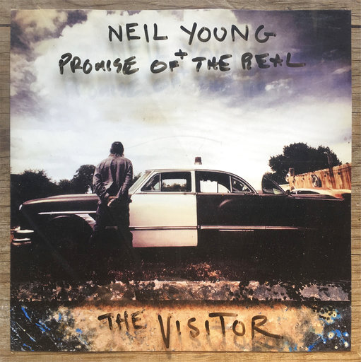 Review: Neil Young lashes out at Trump, world on 'Visitor'