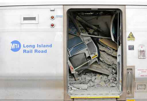 LIRR engineer saved passenger from being crushed, police say