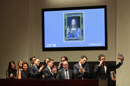 Lost Leonardo painting had tangled path to $450 million sale