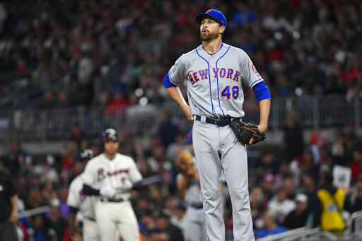 Mets ace deGrom going on injured list, getting MRI on elbow