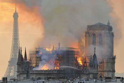 Macron: France to rebuild Notre Dame 'even more beautifully'