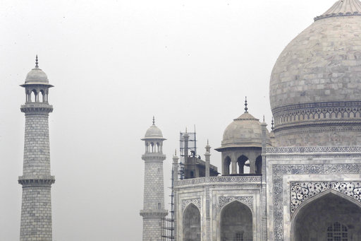 India's cleaning quandary: How to scale the Taj Mahal dome?