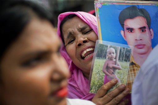 Bangladesh marks 5 years after garment factory collapse