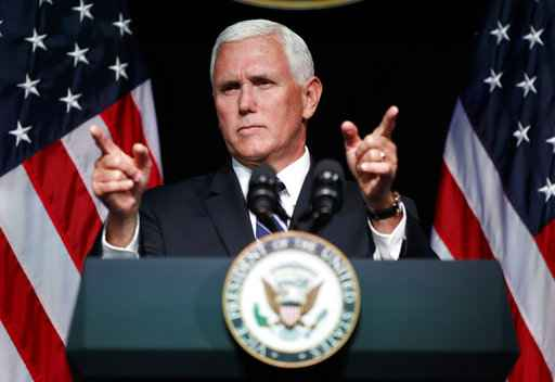 Pence launches Space Force, says United States  needs to prepare for 'next battlefield'