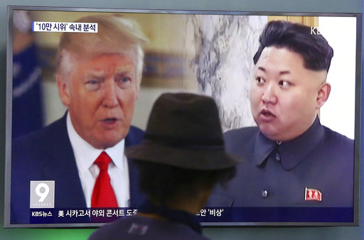 The Latest: US slaps new sanctions on NKorean, Chinese firms