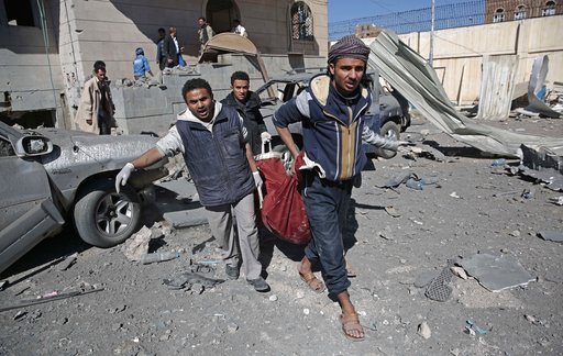 Suspected Saudi-led airstrikes kill 15 in Yemen