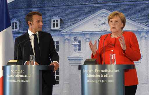 German, French leaders propose Eurozone budget