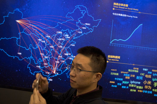 Chinese spend billions shopping online on 'Singles Day'