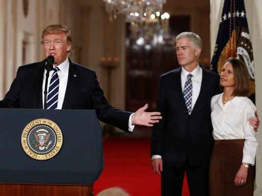 Donald Trump nominates Brett Kavanaugh to US Supreme Court position