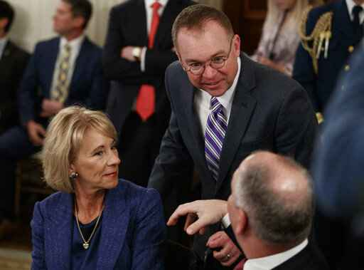 Betsy DeVos, John Bel Edwards, Mick Mulvaney