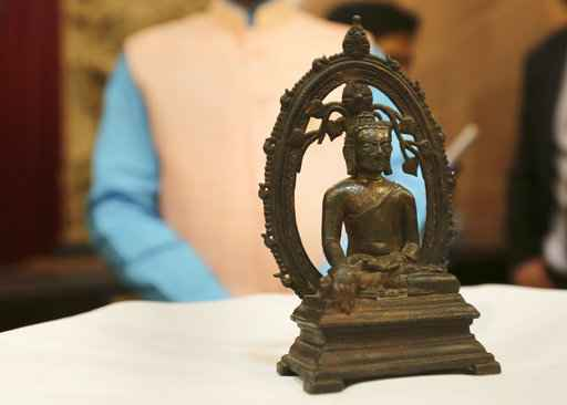UK police return Buddha statue to India 57 years after theft