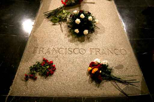 Spain seeks to exhume former dictator Franco in June