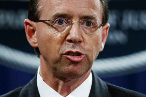 Rod Rosenstein expecting to be fired, AP source says