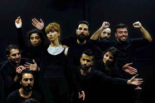 Syrians act in playback theater to heal war trauma