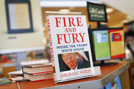 President Trump's aide says critical book is 'pile of trash'