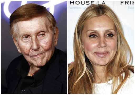 Mogul Sumner Redstone settles lawsuits with ex-girlfriend