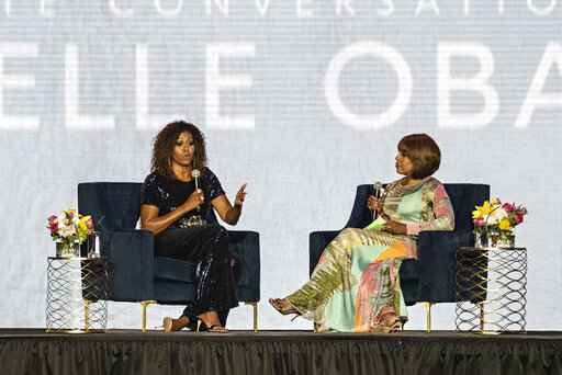 Michelle Obama; Gayle King