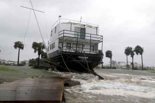 'Catching some hell': Hurricane Michael slams into Florida