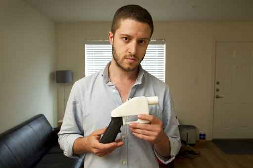 U.S.  release of 3D-printed gun software blocked