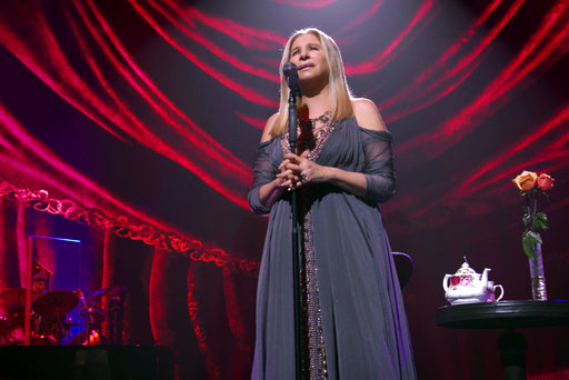 Streisand on not touring again, Netflix film and assault