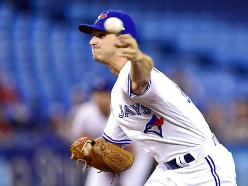 Blue Jays' Pannone strikes out side on 9 pitches vs Rays
