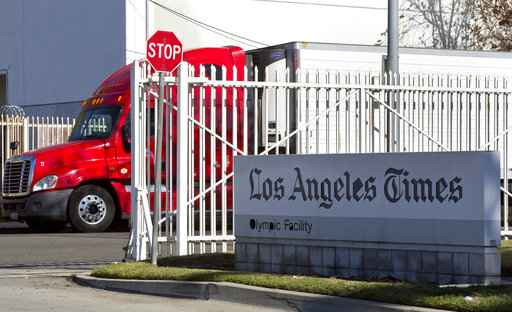 Malware stalls delivery of LA Times and other major U.S. newspapers
