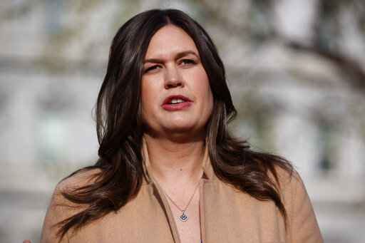 Sarah Sanders Is Defending Her 'Slip of the Tongue'