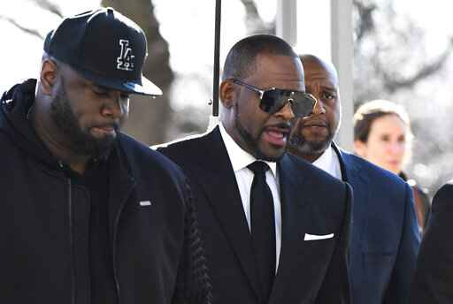 The Latest: No decision on R. Kelly's Dubai travel request