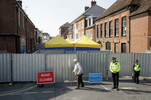 UK police say bottle was source of pair's Novichok poisoning
