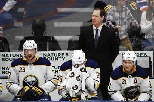 Sabres Fire Head Coach Phil Housley