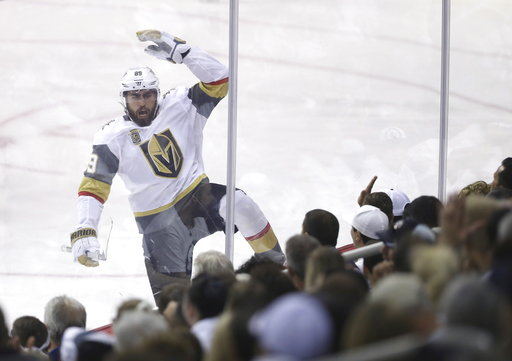 Expansion Vegas Golden Knights advance to Stanley Cup Final