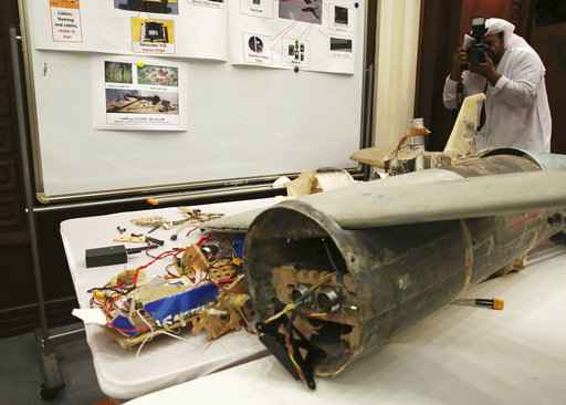 Saudi-led coalition displays Yemeni arms allegedly from Iran