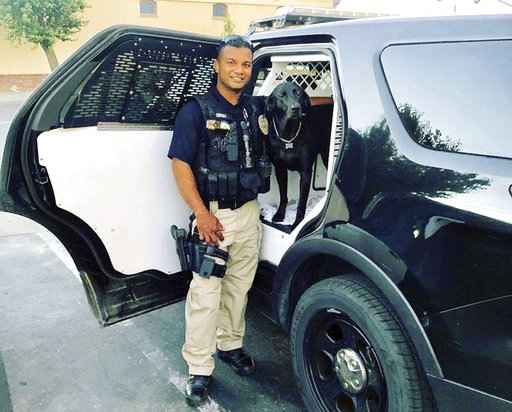 California police officer shot, killed during traffic stop; suspect sought