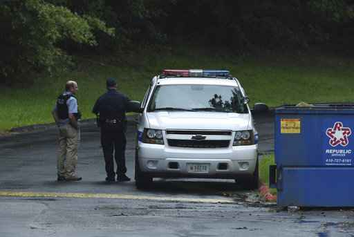 The Latest: 4 dead in Maryland shooting, including suspect