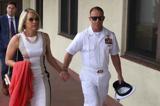 Trial Of Navy SEAL Accused Of War Crime Takes Dramatic Turn