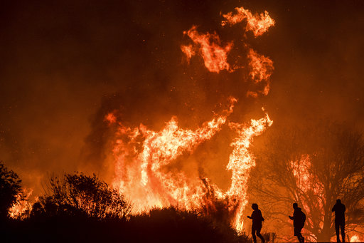 California wind, and fire danger, hits unprecedented high