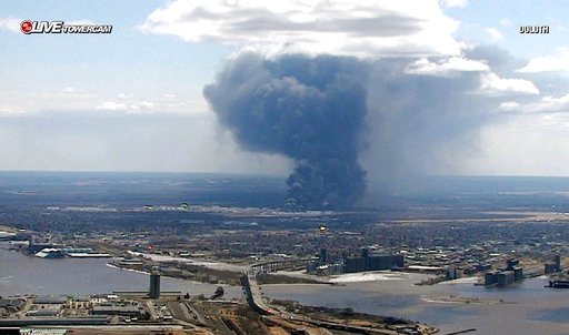 Multiple injuries reported in explosion at Wisconsin oil refinery