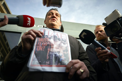 The Latest: Kosovo welcomes verdict for Serb military leader