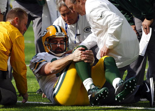 Packers place QB Aaron Rodgers on injured reserve